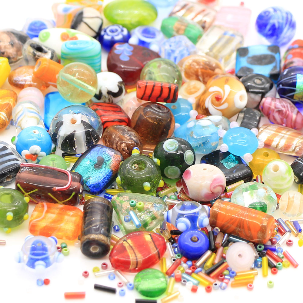 buy half com glass crafts bulk round arts beads lot sewing assorted colors dp amazon in pound