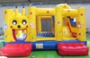 giant inflatable truck slide bouncer combo for sales