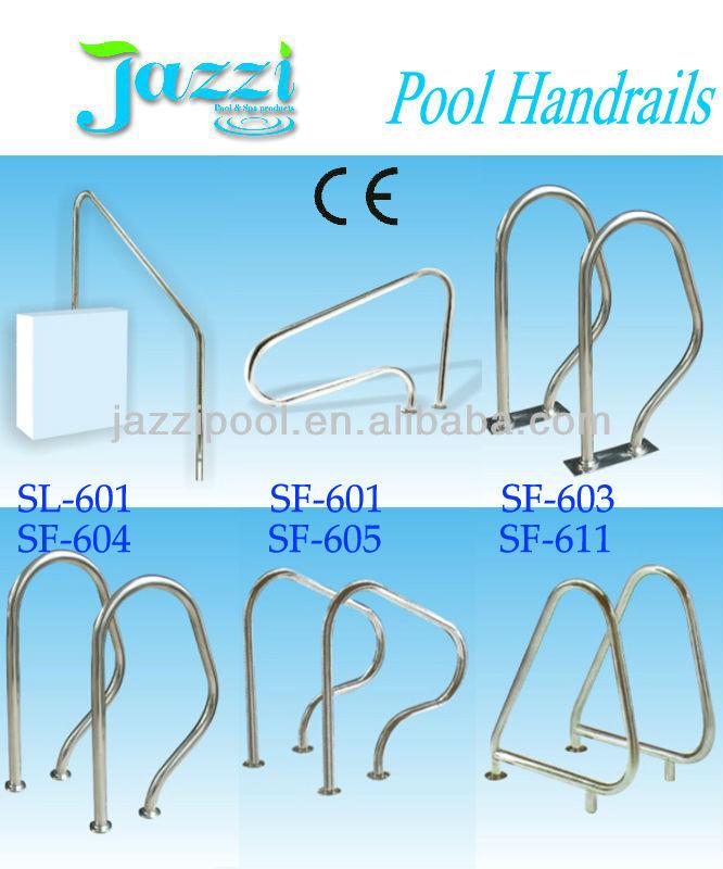 edelstahl schwimmbad handlauf pool und zubeh ren produkt. Black Bedroom Furniture Sets. Home Design Ideas