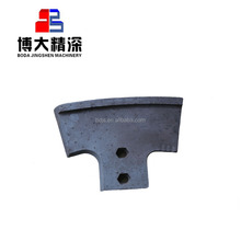 XCMG liebherr concrete mixers stainless steel spare parts mixing paddle scraper