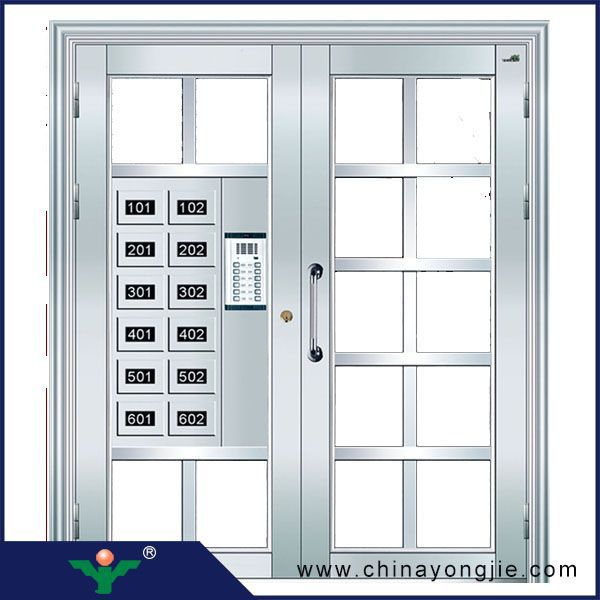 Good Quality Home Security Stainless Steel Door Design Easy To ...