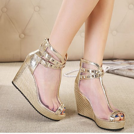 girls fashion rivets silver high heels 2014 ladies pumps