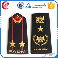 military costumes shoulder board supplier OEM army rank insignia