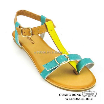 30d5689e304 Made in China thong buckle adjustable flat cozy shoes prices low new ladies  sandal style