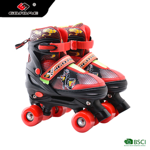 size adjustable outdoor inline speed skate with PU flash wheel for kids
