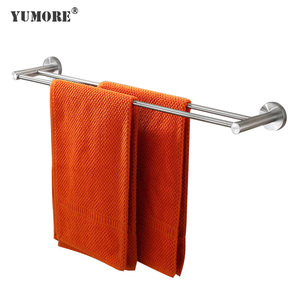 Decorative modern bathroom corner bath large wall mounted heated folding hanging hotel stainless steel towel rack