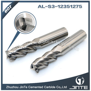 3 Flutes EndMills for Aluminum 12mm End Mills For Mirror Surface