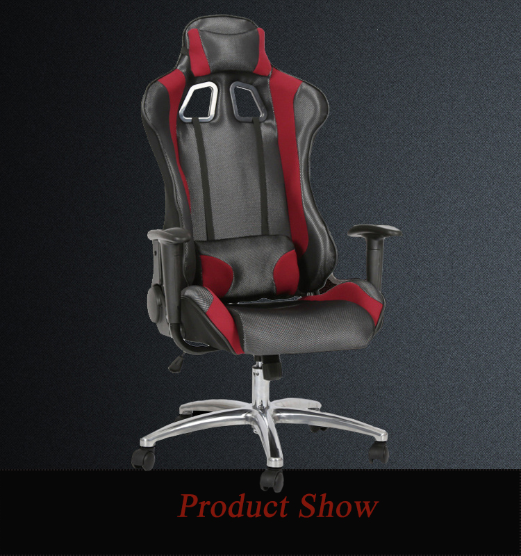 LOL Pu Leather Gaming  Chair Racing Chair for Office Use with Armrest