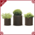 Hot sale Fantastic Small/middle/large Size PE plastic box flower Round Outdoor Rattan Garden plant stand For Sale