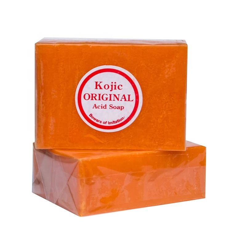 Best Hot sale beauty 100% Pure & All-Natural Soap, Deep Cleansing ,Nourishing, Whitening Lightening Handmade KOJIC Acid soap
