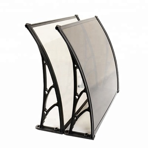 Door window awning polycarbonate plastic outdoor canopy awning