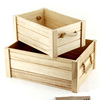 China suppliers sale fsc pine wooden distressed shipping fruit crate wholesale