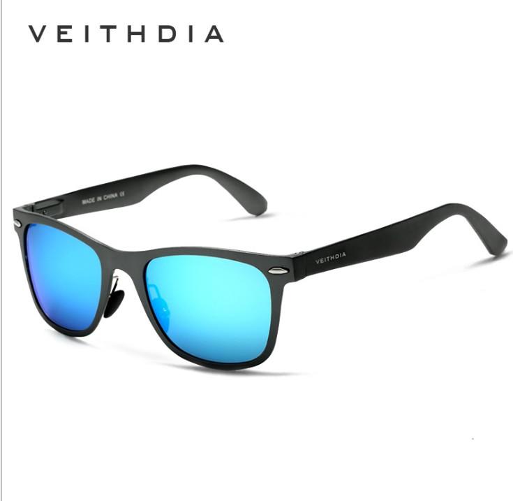 China hot selling metal frame veithdia brand 2140 polarized sunglasses фото