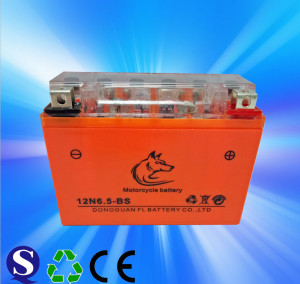 Manufacturer Dry cell motorcycle battery 12N4 12N5 12N 6.5 12N7