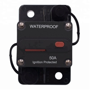DC 32V-48V 50A AMP Circuit Breaker IP67 Waterproof Automotive Circuit on
