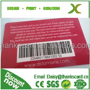 Plastic Barcode Card/ 128 Auto Code Printing/ Barcode Membership Card Maker  - Buy Unique Code Printing,Barcode Membership Cards,Gift Card Maker