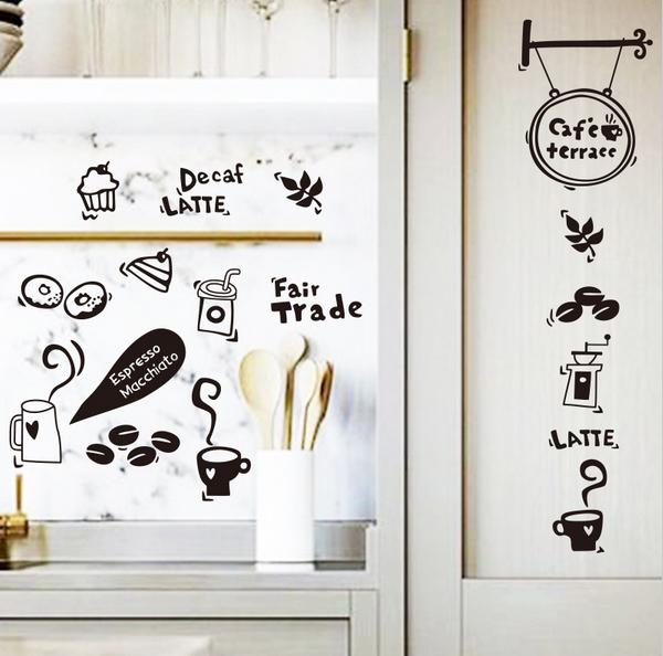 Waterproof Removable Vinyl Kitchen Tools Wall Sticker