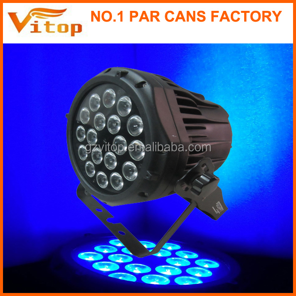 2016 new outdoor waterproof cheap price china stage can led par light 18pcs
