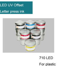 LED UV Offset Ink for Plastic 710 LED