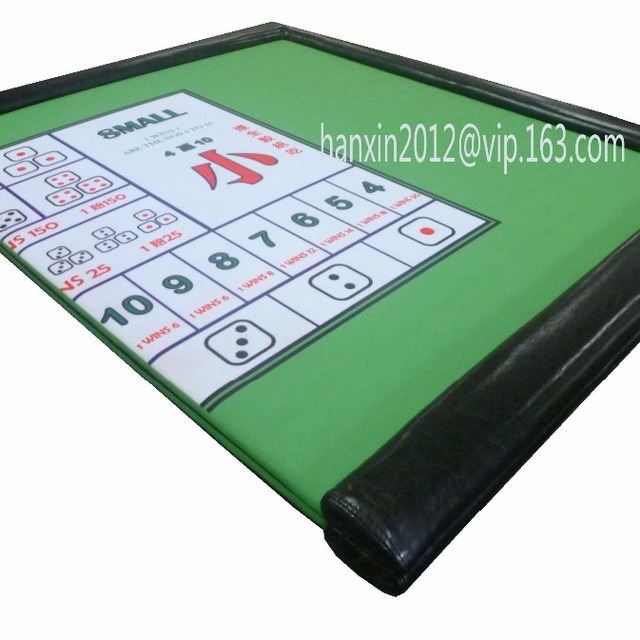 Casino Craps Folding Custom Poker Table Top