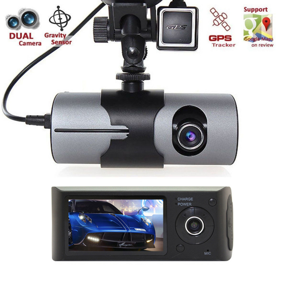 best hidden cameras dual lens car camera with gps for cars