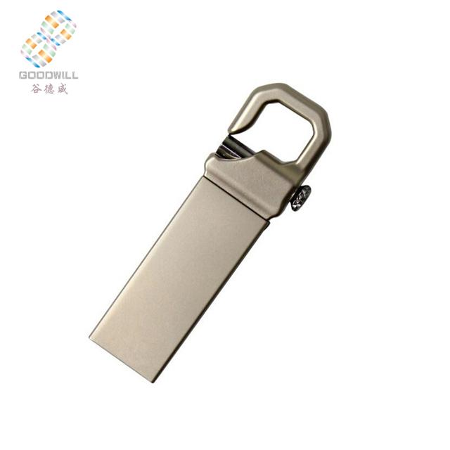 Metal Key Chain USB Flash Drive gift usb memory stick customize logo Factory wholesale - USBSKY | USBSKY.NET
