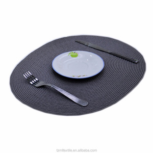 Shrink-Resistant paper plate place mat for table protection table mat for home application,place mats for restaurant