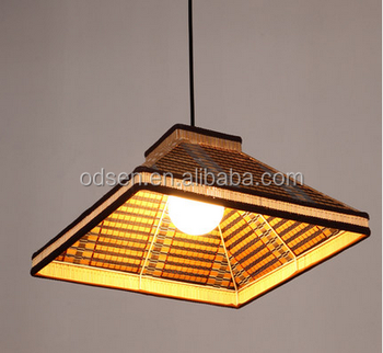 Country Style Bamboo Hanging Lamp For Bar - Buy Bamboo Hanging Lamp ...