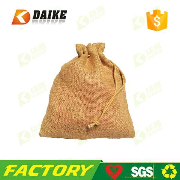 Wholesale custom jute bags coffee 60kg with Factory OEM Supply