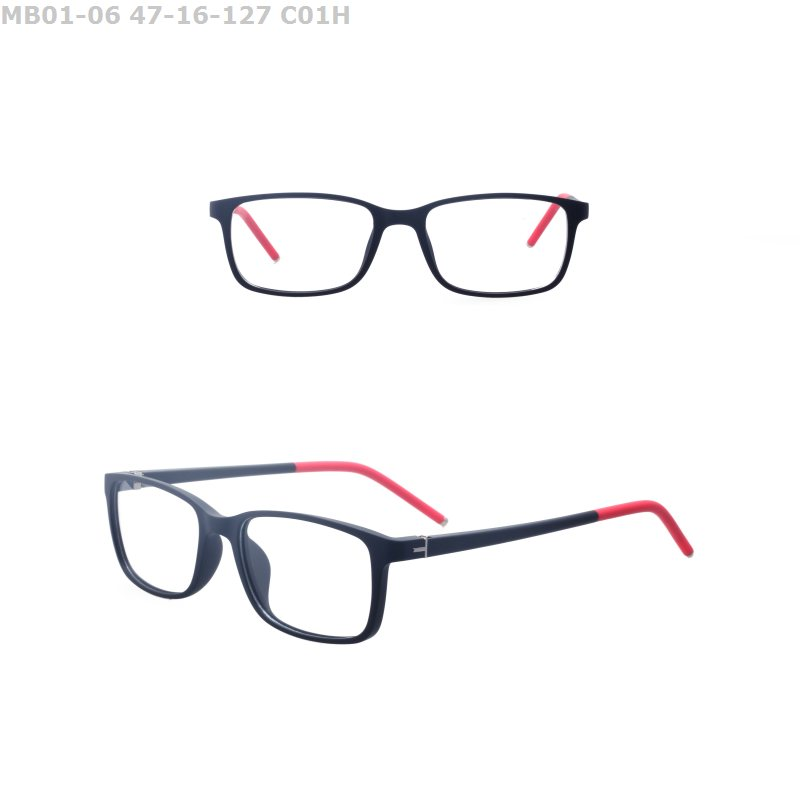 Latest cheap fashion style TR90 promotional colorful stock lot optical eyeglasses frame