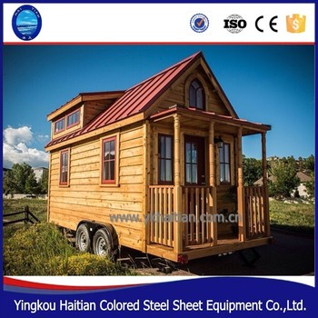 Wooden Chalet Prefabricated Green Tiny Home On Wheels Container Houses on 1000 sq ft. small homes, 400 sq ft. small homes, tiny key west homes, busses from tiny homes, tiny pueblo homes, mini custom homes, pod homes,