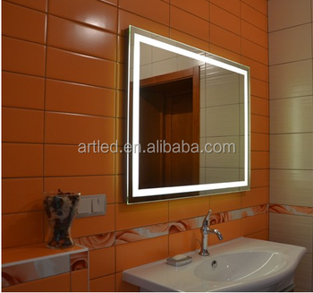Ip54 Led Bathroom Mirror Light With Pull Switch And Shaver Socket ...