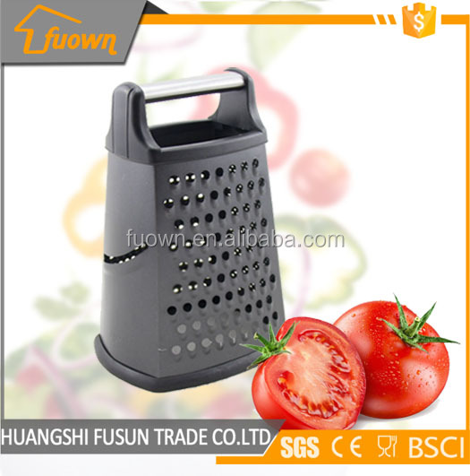 4 sides black coating stainless steel food grater