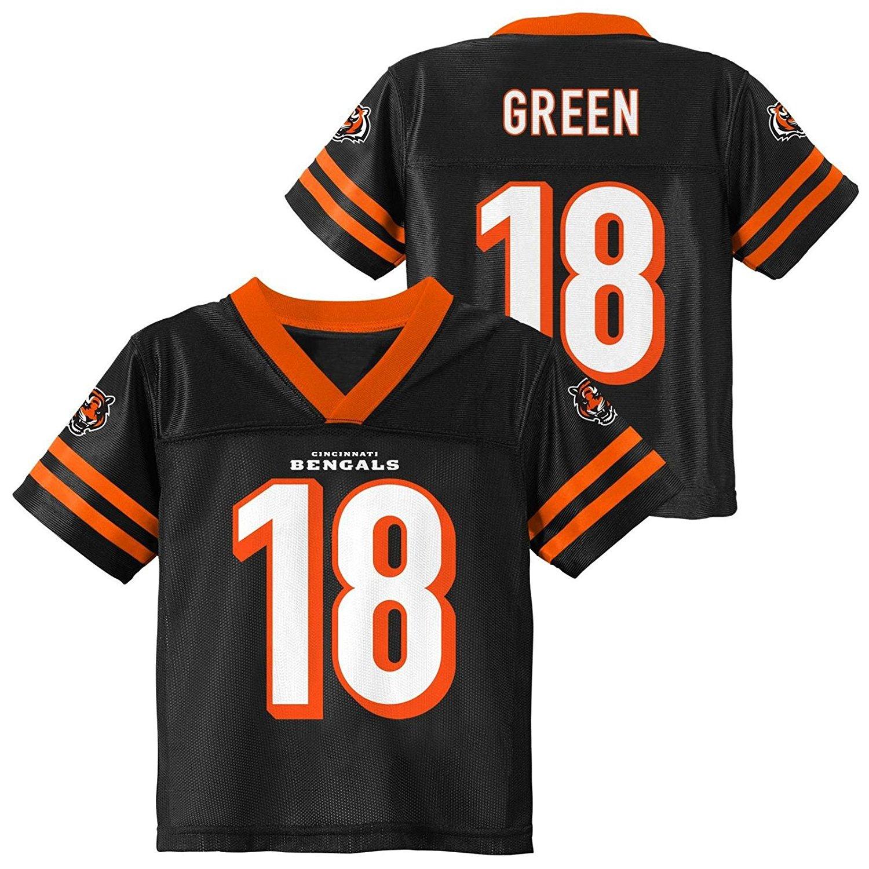 07535a24a Get Quotations · A. J. Green Cincinnati Bengals Black Youth Player Home  Jersey
