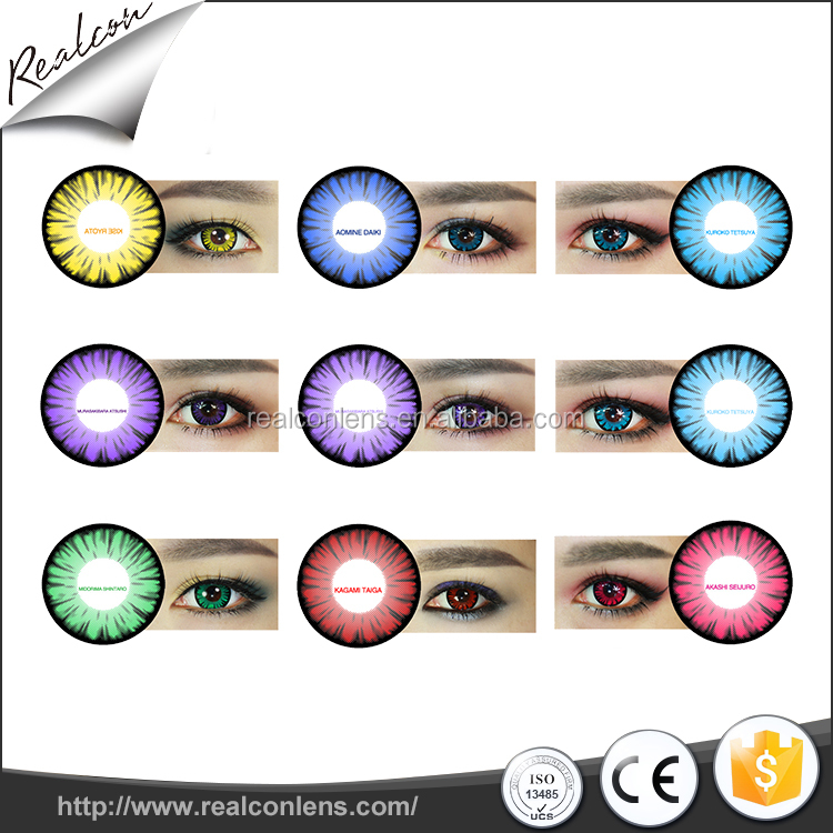 Cosplay Crazy Contact Lenses For Halloween