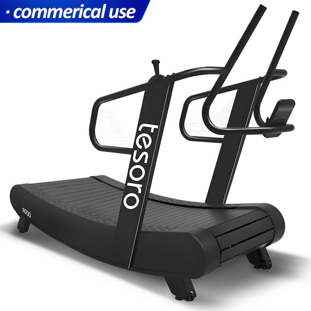 air runner treadmill commercial curved self-powered treadmill non-motorized skillmill trademill time sports