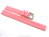 Deployment clasp soft silicone rubber strap 38mm 42mm sports watch band for apple