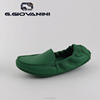 2018 Super Green Sheepskin comfort loafers driving shoes women's woven shoes