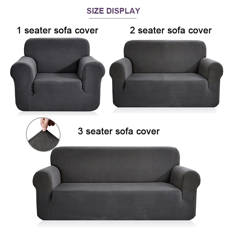 Amazon Best Seller Sofa Slipcover Stretchable Couch Cover With Elastic 3 Three-Seacouch Sofa Cover For Pet