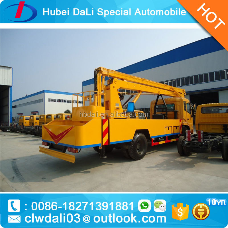 Tianjin 4X2 10MT 18m cherry picker/bucket truck