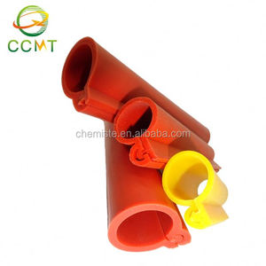 Emergency repaired overhead silicone rubber wire line insulation sleeves cover