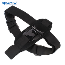 QIUNIU Fast Delivery Shoulder Strap Mount Chest Harness Belt Adapter for Gopro Hero1 2 3+ 3 4 SJ4000/5000 Action Camera