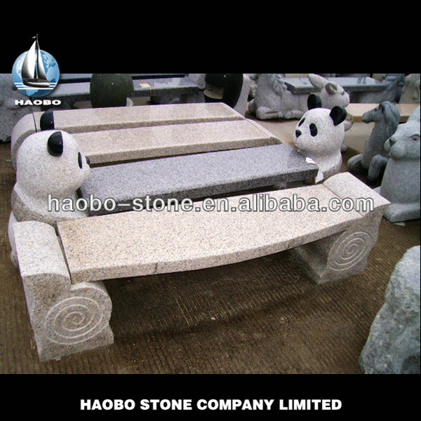 Cheap Chinese Granite Garden Long Bench On Sale