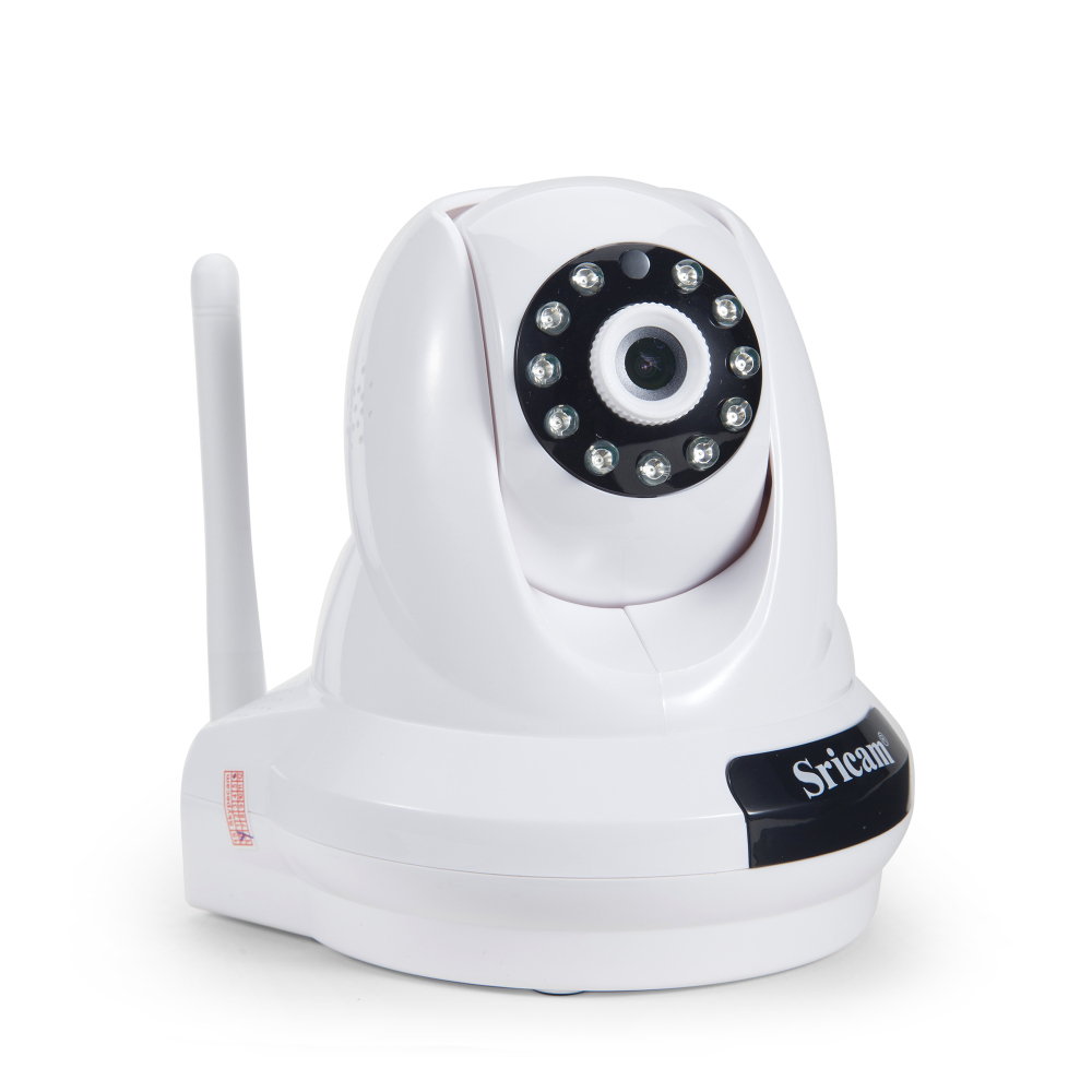 Sricam SP018 new arrival 2MP 1080P hd ip ptz wifi wireless camera indoor CCTV hidden infrared nightvision security protection