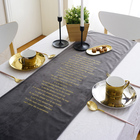 Wholesale Smoothly Anti Slip Table Runners For Table