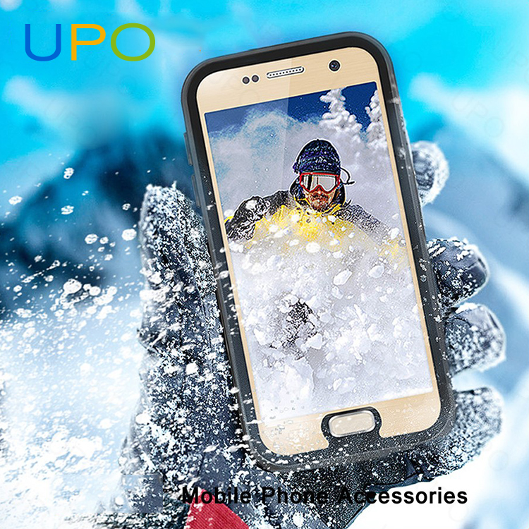 [UPO] Luxury Waterproof Shockproof Hard Plastic PC TPU Cell Phone Case for Samsung Galaxy S7
