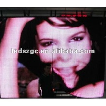 2012 new design P16 full color soft led video curtain