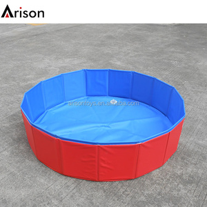 Hot sale PVC inflatable dog pool inflatable pet pool inflatable cat pool