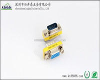 HDB15P male to female VGA gender changer CONNECTOR