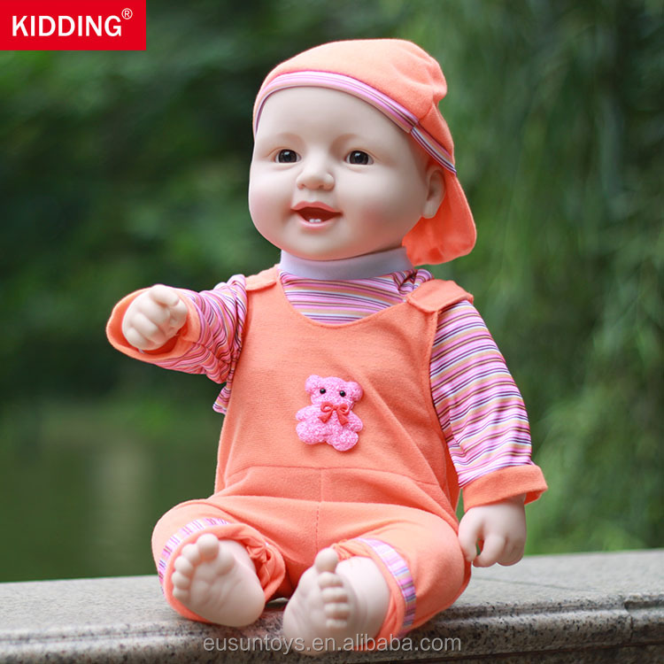 19.7 inch/50CM Lovely baby <strong>doll</strong> with clothes, children Christmas gifts with clothing, bathe toy